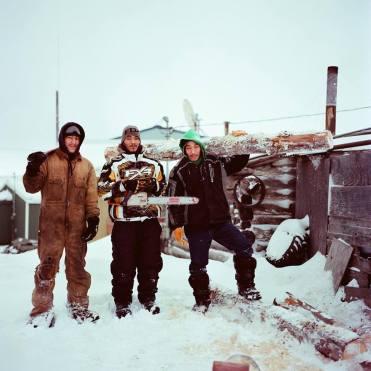 Fred Vestal, Edwin Vestal and Lester Vestal are Inupiaq and live in Noatak, Alaska.
